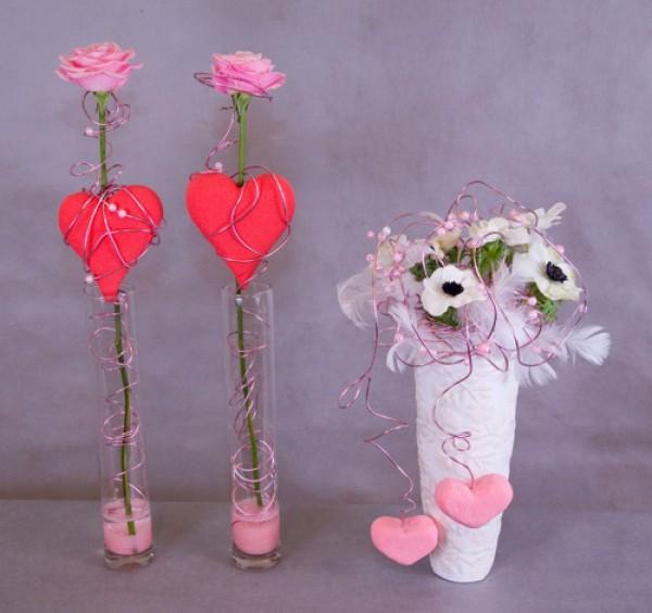 Цветы ко дню валентина своими руками 463